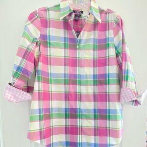 Chaps Plaid Shirt for Women
